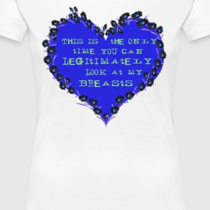 Cheeky Heart - Women's Premium T-Shirt
