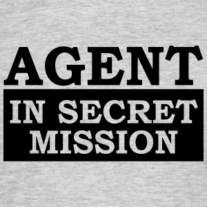 Agent in Secret Mission 007 1c Männer T-Shirt - Männer T-Shirt