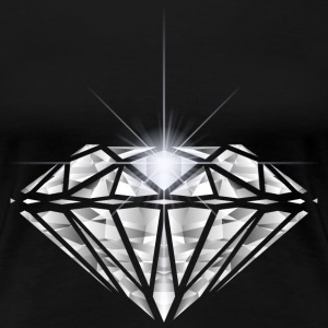 Diamantsplitter T-Shirts - Frauen Premium T-Shirt