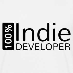 100% Indie developer - Männer T-Shirt