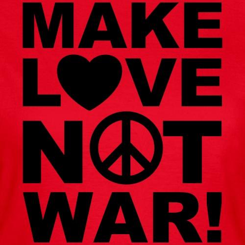 05 Make Love not war Herz Peace