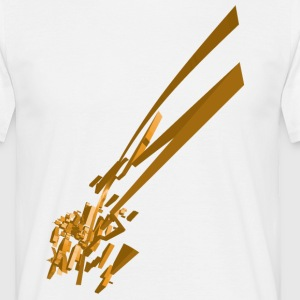 Golden Vector shape - Men's T-Shirt