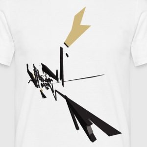Black Vector Shapes - Men's T-Shirt