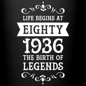 Life Begins At Eighty - 1936 The Birth Of Legends Tazze & Accessori - Tazza monocolore