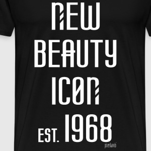 New beauty Icon est. 1968, Pixellamb ™ T-Shirts - Männer Premium T-Shirt