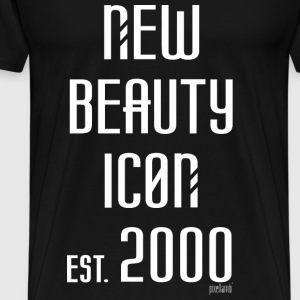 New beauty Icon est. 2000, Pixellamb ™ T-Shirts - Männer Premium T-Shirt