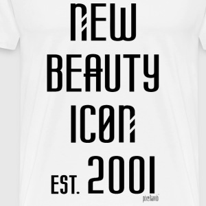 New beauty Icon est. 2001, Pixellamb ™ T-Shirts - Männer Premium T-Shirt