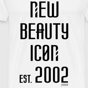 New beauty Icon est. 2002, Pixellamb ™ T-Shirts - Männer Premium T-Shirt