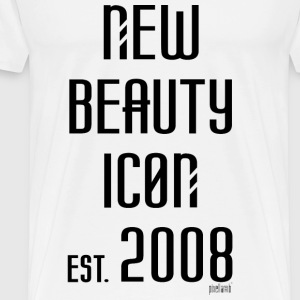 New beauty Icon est. 2008, Pixellamb ™ T-Shirts - Männer Premium T-Shirt