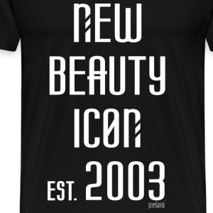 New beauty Icon est. 2003, Pixellamb ™ T-Shirts - Männer Premium T-Shirt