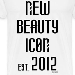 New beauty Icon est. 2012, Pixellamb ™ T-Shirts - Männer Premium T-Shirt