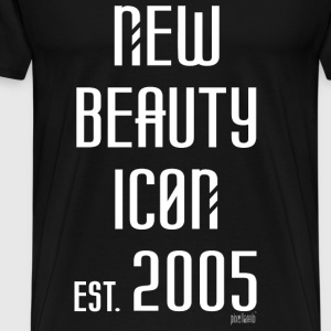 New beauty Icon est. 2005, Pixellamb ™ T-Shirts - Männer Premium T-Shirt