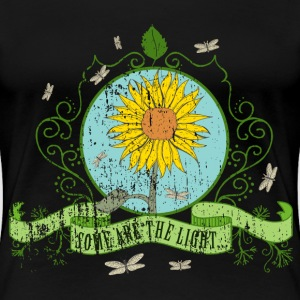 sunflower_some_are_the_light_022016_a T-Shirts - Frauen Premium T-Shirt