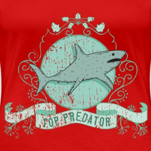 shark_top_predator_02201603 T-Shirts - Frauen Premium T-Shirt