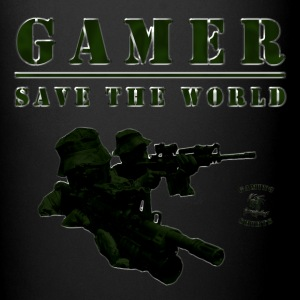 Gamer Coffee Cup | Save the World | #spreadgaming - Tasse einfarbig