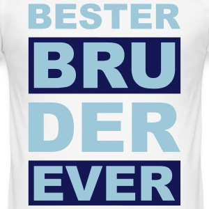 Bester Bruder ever - V2 T-Shirts - Männer Slim Fit T-Shirt