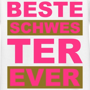 Beste Schwester ever - V2 T-Shirts - Kinder T-Shirt
