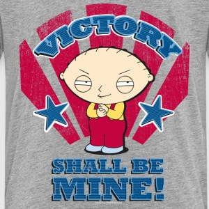 Family Guy Stewie Griffin Victory Teenager T-Shirt - Teenage Premium T-Shirt