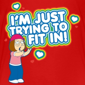 Family Guy Meg Griffin Fit In Teenager T-Shirt - Teenage Premium T-Shirt