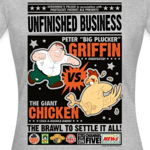 Family Guy Peter Griffin Unfinished Business tee s - T-shirt Femme