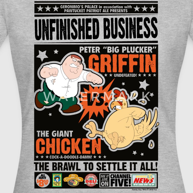 Family Guy Peter Griffin Unfinished Business Fraue - Frauen T-Shirt
