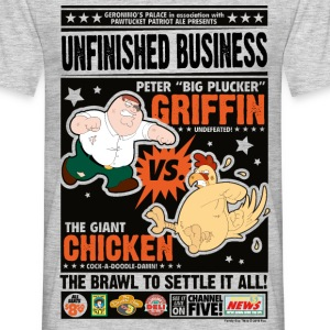 Family Guy Peter Griffin Unfinished Business Men T - T-shirt herr