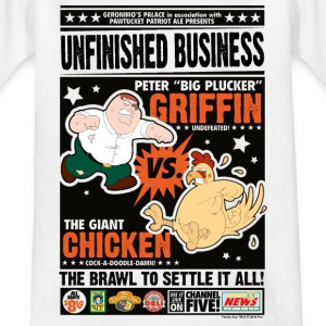 Family Guy Peter Griffin Unfinished Business Teena - Teenage T-shirt