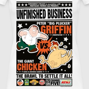 Family Guy Peter Griffin Unfinished Business Women - Premium-T-shirt dam
