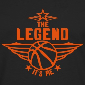 basketball legend its me quote logo Long sleeve shirts - Men's Premium Longsleeve Shirt