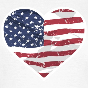 USA Love T-Shirts - Frauen T-Shirt