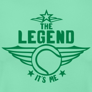 tennis legend its me est moi logo Tee shirts - T-shirt Femme