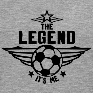 football legend  its me logo Long sleeve shirts - Men's Premium Longsleeve Shirt