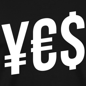yes T-Shirts - Men's Premium T-Shirt