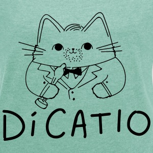 DiCatio T-Shirts - Women's T-shirt with rolled up sleeves