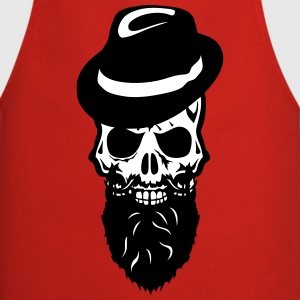 Skull beard hat  Aprons - Cooking Apron