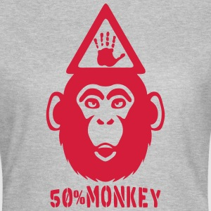 monkey 50 Hand danger panel T-Shirts - Women's T-Shirt