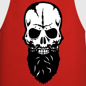 skull  beard 25  Aprons - Cooking Apron