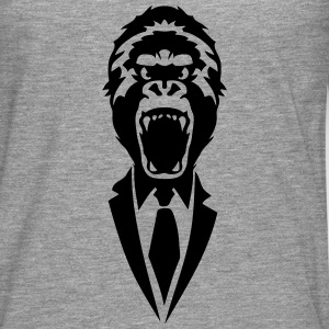 gorilla tie suit 2502 Long sleeve shirts - Men's Premium Longsleeve Shirt