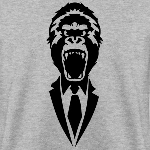 gorilla tie suit 2502 Hoodies & Sweatshirts - Men's Sweatshirt