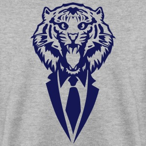 tiger tie costume suit Hoodies & Sweatshirts - Men's Sweatshirt