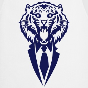 tiger tie costume suit  Aprons - Cooking Apron