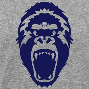 gorilla wild animal 2502 T-Shirts - Men's Premium T-Shirt