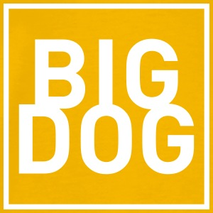 BIG DOG 1 - Männer Premium T-Shirt