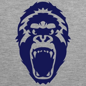gorilla wild animal 2502 Sports wear - Men's Premium Tank Top