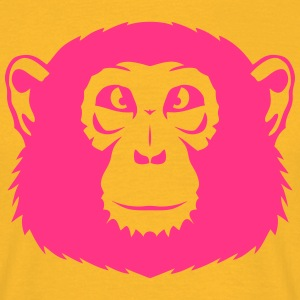 Head monkey chimpanzee 12 T-Shirts - Men's T-Shirt