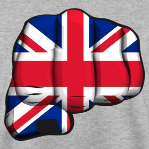 english clenched fist flag poing drapeau Sweat-shirts - Sweat-shirt Homme