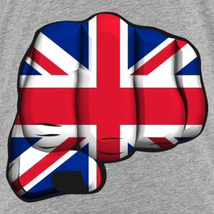 English clenched fist flag Shirts - Kids' Premium T-Shirt