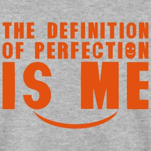 definition of perfection is me citation Sweat-shirts - Sweat-shirt Homme