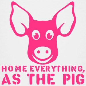 home everything as the pig citation Tee shirts - T-shirt Premium Enfant