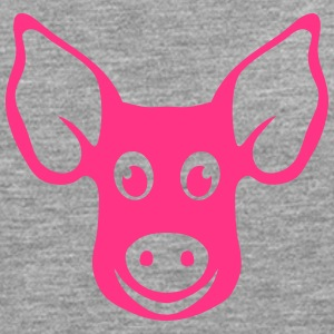 pig head drawing 2202 Long sleeve shirts - Men's Premium Longsleeve Shirt